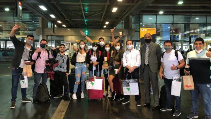Circuito Litoral Norte, Amaszonas Línea Aerea e Setur/SP realizam press trip com influenciadores bolivianos